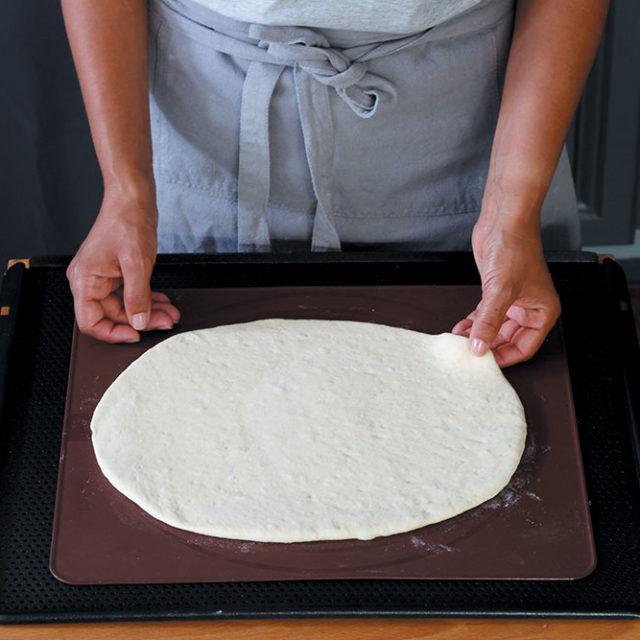 Étape 6 - Recette Pidde pizza à la Fourme d'Ambert