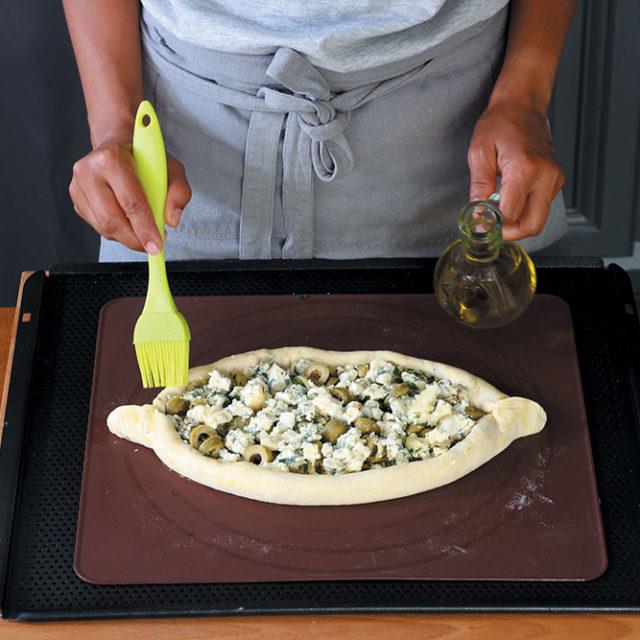 Étape 2 - Recette Pidde pizza à la Fourme d'Ambert