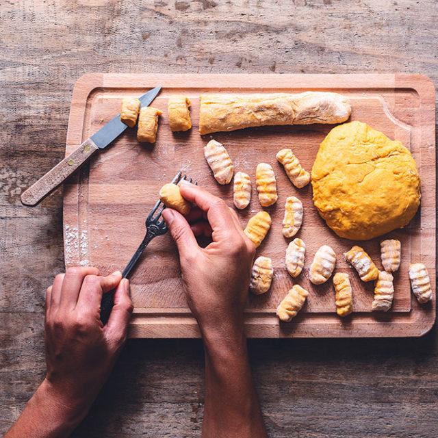 Étape 5 - Recette Gnocchis de courge Butternut à la Fourme d'Ambert et à la sauge