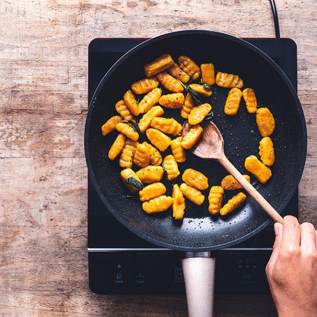 Étape 6 - Recette Gnocchis de courge Butternut à la Fourme d'Ambert et à la sauge
