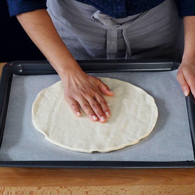 Étape 2 - Recette Pizza Fourme d'Ambert et poire
