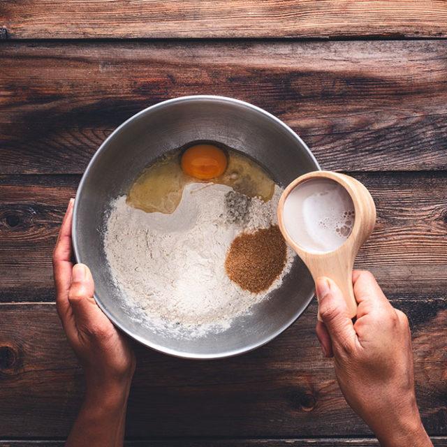 Étape 1 - Recette Pull appart bread à la Fourme d'Ambert, ail et jambon d'Auvergne