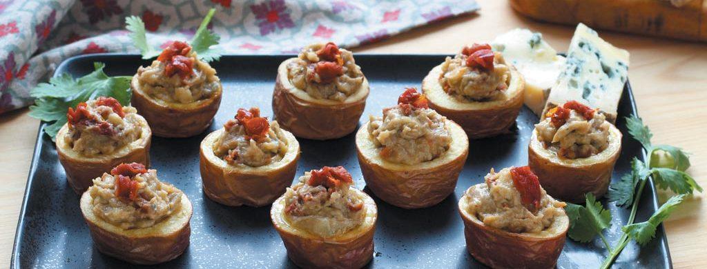 Pommes de terre à la Fourme d'Ambert