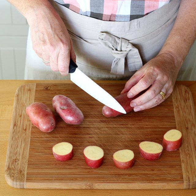 Étape 1 - Recette Pommes de terre à la Fourme d'Ambert