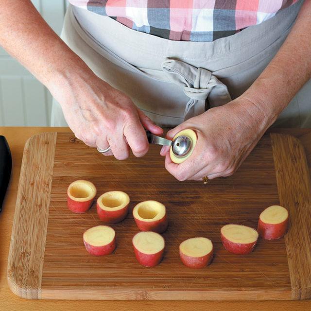 Étape 3 - Recette Pommes de terre à la Fourme d'Ambert