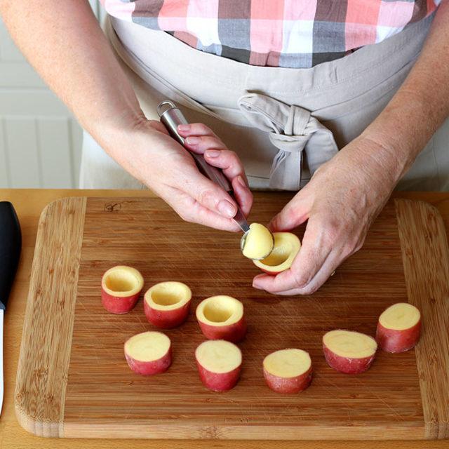 Étape 2 - Recette Pommes de terre à la Fourme d'Ambert