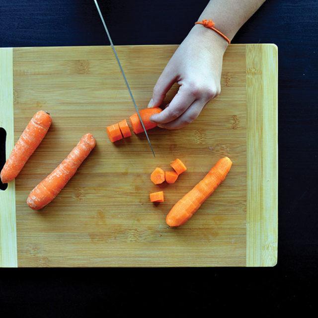 Étape 2 - Recette Velouté de butternut et carottes à la Fourme d'Ambert