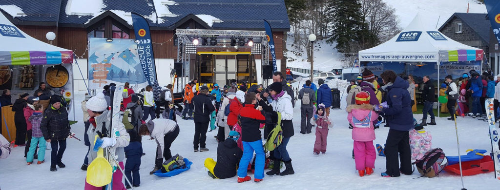 Glisse and Fromages 2020 : rendez-vous au pied des pistes de ski d'Auvergne
