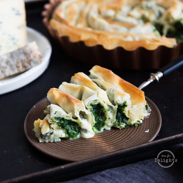 Käse-Spinat-Torte