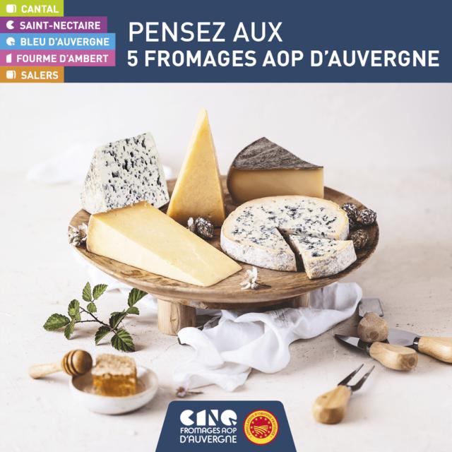 La Fourme d'Ambert et les AOP fromagères d'Auvergne ont besoin de vous!