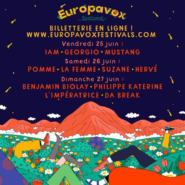La Fourme d'Ambert partenaire d'EUROPAVOX